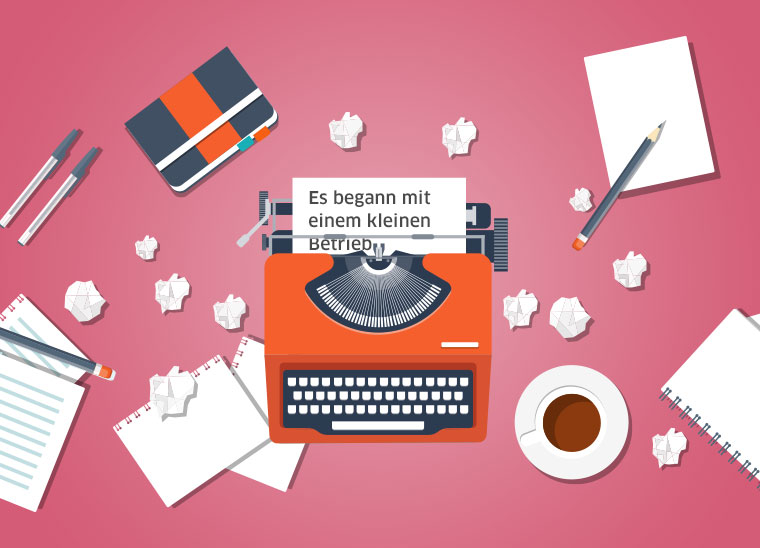 Storytelling im B2B, die Macht der guten Geschichten, Content Marketing, Bkomm Media