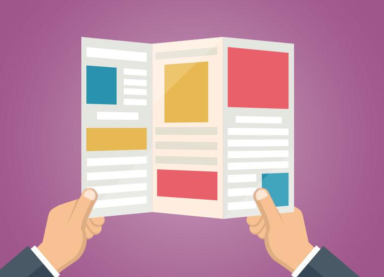 Die Broschüre im B2B als klassisches Marketing-Tool, Bkomm