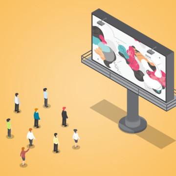 Plakatwerbung, Werbeplakate richtig gestalten, Bkomm Media