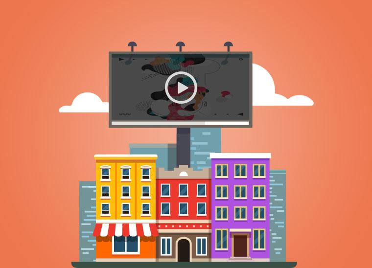 Digitale Außenwerbung fürs B2B, Bkomm Media
