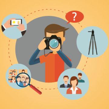 Tipps für das Fotografieren auf Veranstaltungen, Bkomm