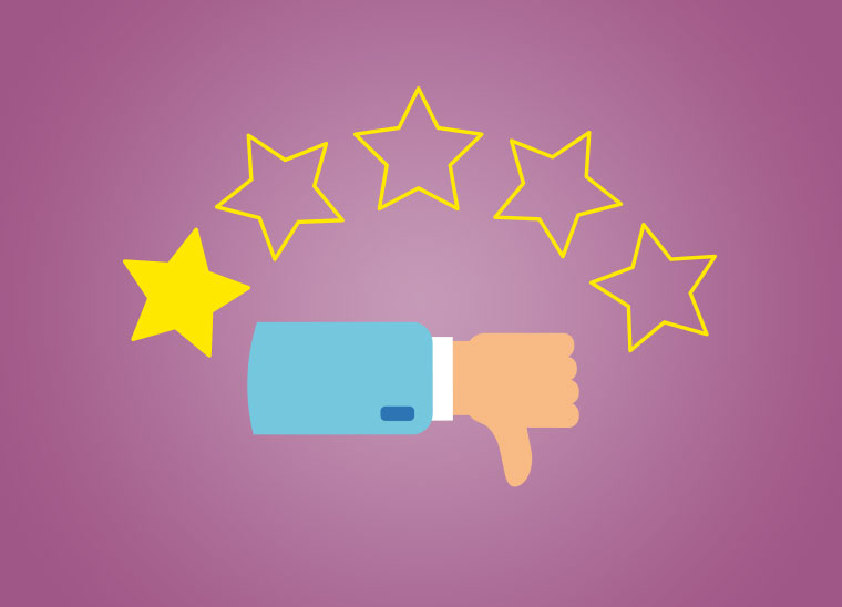 Was tun bei negativen Bewertungen, Negative Bewertungen, Bkomm