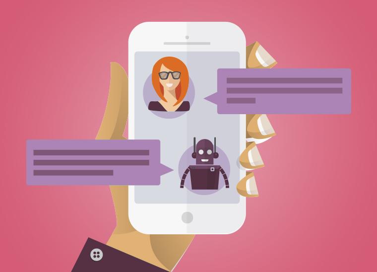 Chatbots im B2B, Bkomm