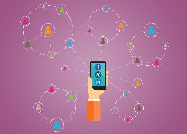 Social Media, Reichweite Werbung, Bkomm