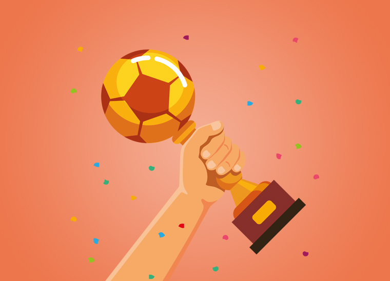 Werbung mit der WM 2018, Bkomm