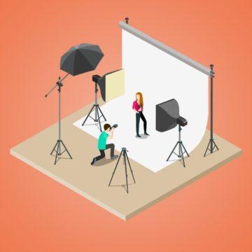 Planung eines Fotoshootings, Bkomm